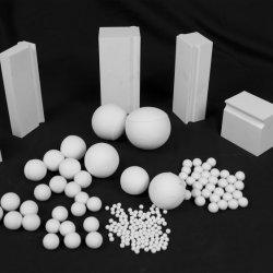 불활성 92% 고알루미늄 세라믹 연삭볼