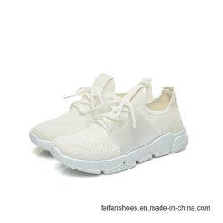 Schuhe der neuen Frauen fliegen Webart-beiläufiger Sport-laufende Schuhe (FFHDL1230-6)