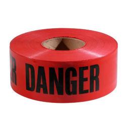 Signe de la sécurité routière Avertir Vinyl Bande réfléchissante rouge