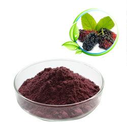 25% 30% Naturel d'anthocyanine myrtille extrait de plante d'anthocyanes 13306-05-3