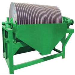 二重ドラム磁鉄鉱および赤鉄鉱のためのぬれた磁気分離器機械