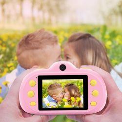 Camera van 2.0 Jonge geitjes van de Foto van de Kinderen van het Beeldverhaal van de Duim de Digitale met Mooie Camera van het Beeldverhaal SLR van de Videorecorder HD 1080P de Mini