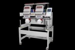 12 computer-Stickerei-Maschine der Farben-2 Hauptfür die Schutzkappe flach