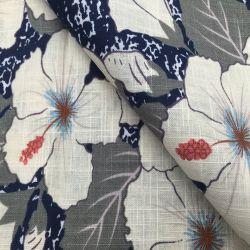 En pur coton Slub réactive la Plaine de l'impression pour les vêtements en tissu et un canapé-Textile tissu d'accueil