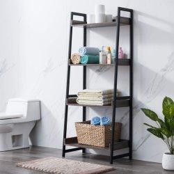 IStudy soggiorno bagno 4-Tier Bookshelf scala industriale scaffale scaffali Scaffali per scaffali per scaffali vintage per librerie