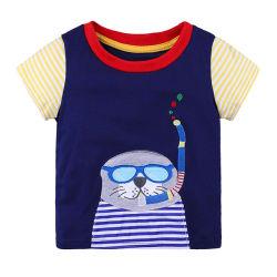어린이 의류 아기 큐트 티셔츠 카툰 의류 보이즈 티 TOPS Soft 캐주얼 코튼 보텀링 셔츠