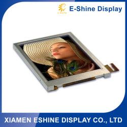 شاشة LCD مقتطعة مخصصة عالية السطوع بدقة TFT مقاس 2,8 بوصة بدقة 320 × 240 مع لوحة سعوية تعمل باللمس