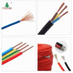 Libre de halógenos de bajo nivel de humo Conductor de cobre trenzado/PVC/PE Flexible aislante XLPE/sólido de iluminación eléctrica/eléctrica cableado de la Casa Solar de la construcción de Cables