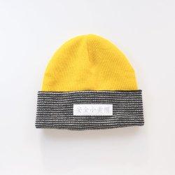 Pronto para envio Hot-Sale Beanie Hat 100% Acrylic filhos seguros Hat Amarelo chapéu de Inverno