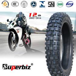 17 polegadas novo OEM 6pr correia em nylon pneu diagonal Borracha Natural de lama de neve Motociclo Padrão de depressão do tubo de pneu (3.50-17) (460-17) com a ISO