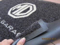 La haute définition imprimé le logo de nylon mat, avec une forte dos en caoutchouc, Oeko tex Standard 100 - certifié