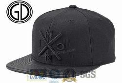Новый дизайн Cool 3D вышивка баскетбол Red Hat Snapback колпачок с кожаными края пик