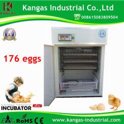 Оптовая торговля цифровой 176 яйца автоматический инкубатор для куриных яиц (КВ-4)
