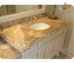 Белый/желтый/коричневый/Черный/Серый индикатор Эмперадор мраморная ванная комната и туалетные верхней части для отеля/кухонные гранитные/Quartz