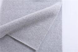 All-Polyester suéteres, felpa, Short-Fiber una cara gris de lino, lana, punto de color Slub catiónico teñido de hilados de Ab