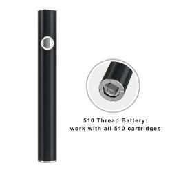 [ف-تيم] [فكتوري بريس] 510 خيط سنّ اللولب زرّ [فب] قلم [كبد] بطارية [فبرس] دخان سيجارة إلكترونيّة