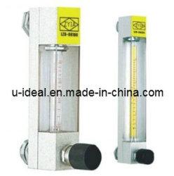 مقياس التدفق الزجاجي مقياس التدفق ذو المقياس Rotameter الزجاجي Lzb-Dk100 Dk200، مقياس تدفق الغاز