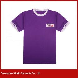 قميص قصير من القطن القطنية 100% مشطوف الجودة (R185)