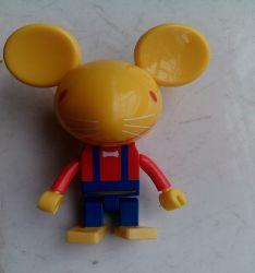 Индивидуальные пластиковые мышь мультфильм диск USB (OM-P132)