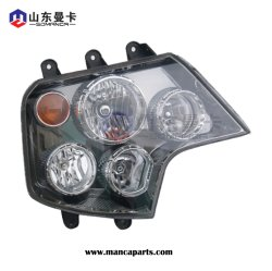 Sinotruk Truck Parts Head lamp for HOWO A7 Truck Wg9925720001