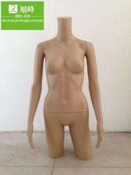 La mitad de la pantalla de sostén del cuerpo femenino torso maniquí Busto de mujer