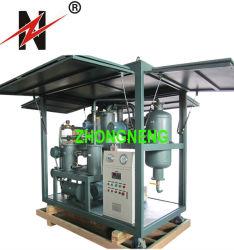 De hoge VacuümMachine van de Filtratie van de Olie, de Zuiveringsinstallatie van de Olie van de Transformator met ISO