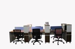 Современный стиль Premium сотрудников раздел рабочих станций Office Desk (PSEN-WS-2017-12)