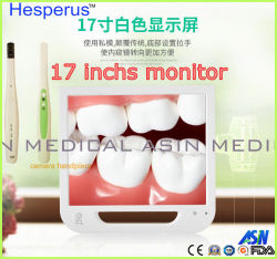 17-дюймовый ЖК монитор стоматологическая Endoscope (USB / AV / ТВ / HDMI / VGA) + Built-Quarter скрип + перорального Hesperus камеры + Пульт дистанционного управления