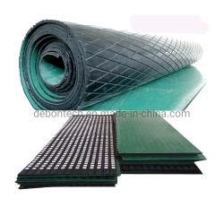 Riemenscheiben-Verkleidungs-keramische Blatt-Förderanlagen-Gummitrommel-Gummiverkleidung
