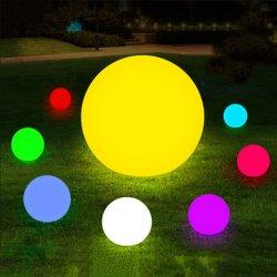 Weiße glühende LED-Kugel-glühende Kugeln LED, RGB-Farbe für Pool-u. BADEKURORT Dekoration-Beleuchtung