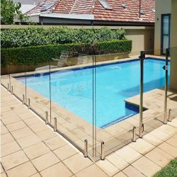 Afdeling en Veiligheid van het Glas van de Douche van het Zwembad van de Woonwijk van de vervaardiging de de Gehele 10mm Afdeling van het Glas voor de Omheining van het Balkon