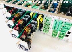 Pi54 Amplificador integrado Array, canal 4 X400W de saída de áudio da rede Cobranet dentro do sistema de difusão, Escolha Perfeita