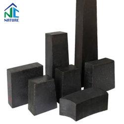 Bloco de carbono Magnesia-Calcium, MGO-Cao-C tijolo, Alumina-Magnesite tijolo de carbono para o forno de oxigénio C 7% 8% 9% 10% 12% 14% 18% 230x114x65/75/60/50/40/30mm