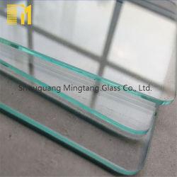 Beste Kwaliteit 8mm Aangemaakte Glas van de Badkamers van de Deur van de Dikte het Duidelijke Vlakke Meubilair