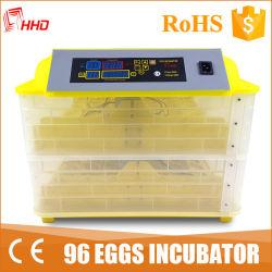 붙들기 96의 계란 자동적인 닭 부화기 계란 (YZ-96)를