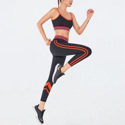 2020 بالجملة عالة إشارة نساء نظام يوغا رياضة محدّد تمرين بدنيّ [لغّينغس] ملابس رياضيّة لأنّ [جم]