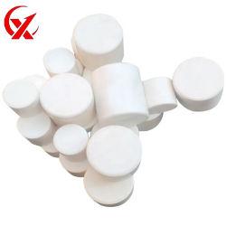 El 92% de cerámica de óxido de aluminio rectificado cilíndrico Media buena dureza