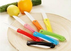가정용품 세라믹 식물성 과일 Foldable 접히는 소형 실용적인 칼