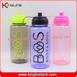 1000ml botella de bebida de plástico deportes la tapa con asa (KL-7118)