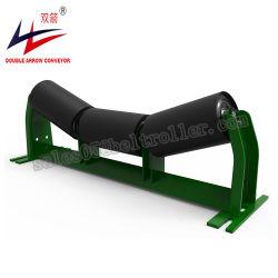 Ременной транспортер подборочные аппараты подготовки Troughing натяжной ролик с рамой