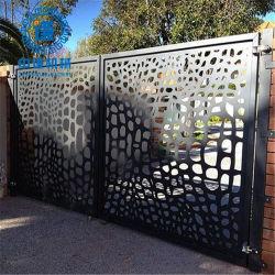 PVC 코팅 알루미늄 시트 천공형 장식 금속 메시