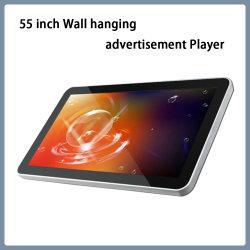 55 Zoll Wand Hängen Werbung Spieler Werbemaschinen Werbung Display