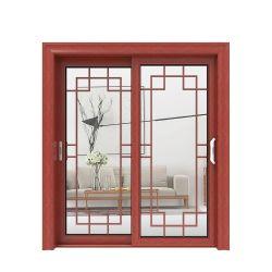 Commerce de gros de la série 70 personnalisé Revêtement en poudre des armoires de cuisine porte en verre profilé en aluminium