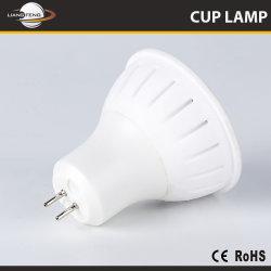 高いPower Good Quality Gu5.3 MR16 GU10 Ceramic Housing LED Lamp Cup 5W 7W Spotlight