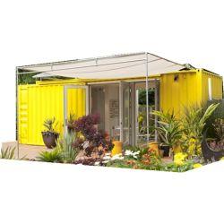 Contêiner modificado House Yellow Garden House