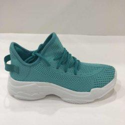 Nueva moda mujer Flyknit transpirable zapatos con alta calidad zapatos deportivos bt0012