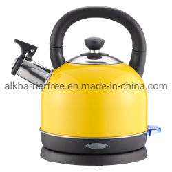 Дешевые 304 нержавеющая сталь пластиковый электрический чайник пластика