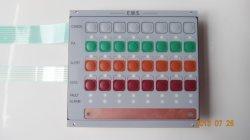 Тиснение (emboss) ключ купол на ощупь мембранный электрический выключатель с медной пластины