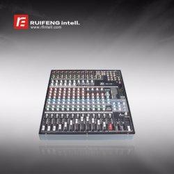 高精度16チャネルの専門の可聴周波ミキサー