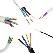450/750V PVCはワイヤー、電気銅のコアワイヤーケーブル、構築の絶縁体PVCによっておおわれたワイヤー、ゴム製アルミニウムコンダクターの適用範囲が広い電気制御ケーブルを絶縁した